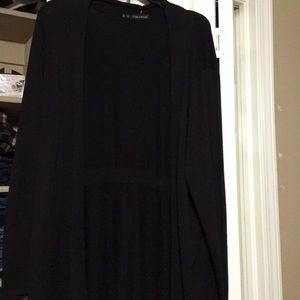 Maurice's black cardigan